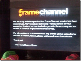 framechannel down