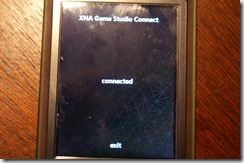 zune game connected