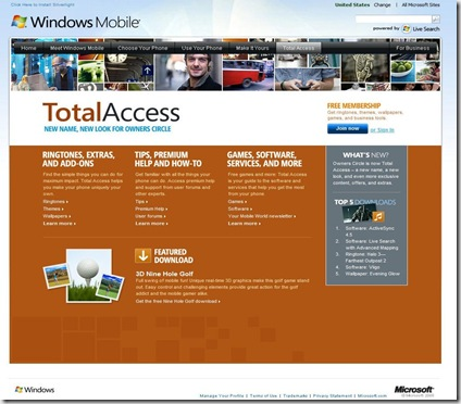 Windows Mobile total access