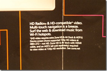 Zune HD Front 3